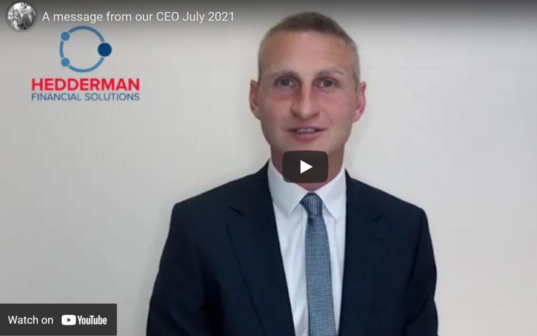 Mark Hedderman July 2021